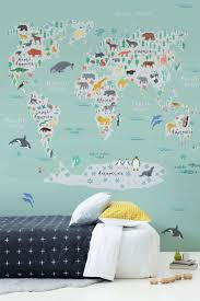 best 25 world map wallpaper ideas on pinterest map wallpaper are you decorating your kid s bedroom this illustrated world map is completely unique and is guaranteed to put a big smile on any child s face