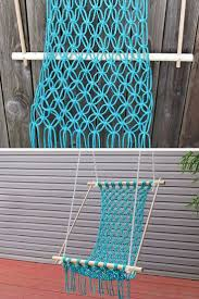 Macrame Hammock Chair 41 Brilliant Macrame Ideas You Need To Try Just Bright Ideas