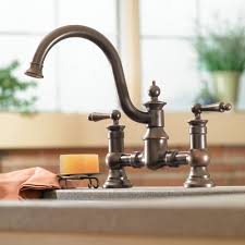 Oiled Rubbed Bronze Kitchen Faucets Oil Rubbed Bronze Kitchen Faucet U2014 The Homy Design