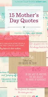 Mother Day Quotes by 15 Mother U0027s Day Quotes Hallmark Ideas U0026 Inspiration