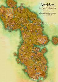 Morrowind Map Auridon Map The Elder Scrolls Online Game Maps Com