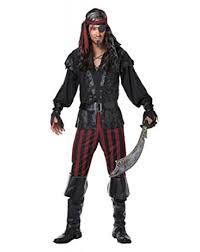 Mens Halloween Costumes Amazon Amazon California Costumes Men U0027s Ruthless Rogue Pirate