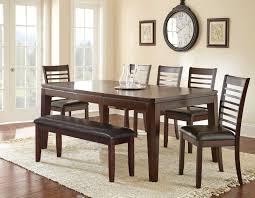 steve silver allison 7 piece 60x42 rectangular dining room set