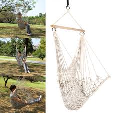 compare prices on kids garden swing chair online shopping buy low kids adults cotton rope net outdoor swing seat hanging patio garden chair new arrival china