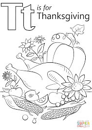 thanksgiving coloring books t is for thanksgiving coloring page free printable coloring pages