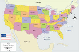 Usa States And Capitals Map by The United States Of America Map Roundtripticket Me