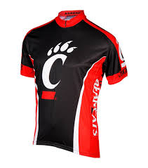 red cycling jacket adrenaline cincinnati bearcats cycling jersey dubois book store