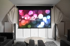 vmax dual projection screen 3d and 4k ultra hd ready elite