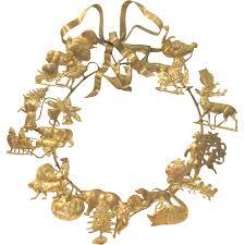 vintage petites choses brass dresden victorian style seasonal