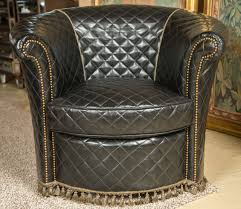 Barrel Chairs Swivel Tufted Leather Barrel Chairs Swivel Leather Barrel Chairs
