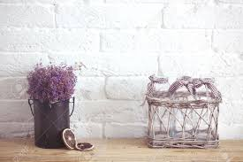 rustic home decor provence style lavender bouquet of dried