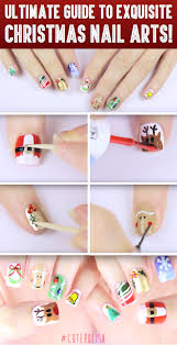 here is your ultimate guide to exquisite christmas nail arts