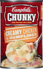 amazon com campbell u0027s chunky soup creamy chicken u0026 dumplings