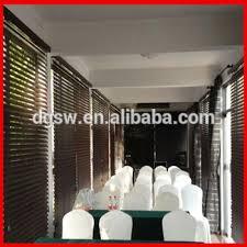 ready made window blinds luxury restaurant decor pvc faux wood zebra window blinds ready