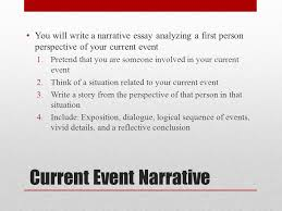 Guidelines for a Narrative Relate events in a clear order SlidePlayer