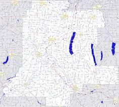 New York County Map by Landmarkhunter Com Livingston County New York