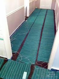 heated floors under laminate underfloor heating mat for use under laminate and wood floors