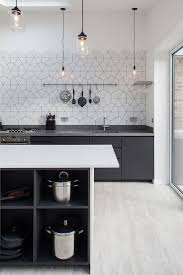 best 25 scandinavian kitchen backsplash ideas on pinterest simplicity of lighting and pattern of the backsplash hold your attention in this scandinavian kitchen