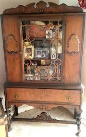 Oak Curio Cabinet Furniture Curio Cabinets For Sale Glass Curio Cabinets White