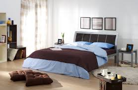 bedroom cool men bedroom themes decoration using furry dark grey