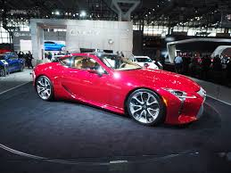 lexus coupe lc 500 the lexus lc 500 coupe debuts in new york