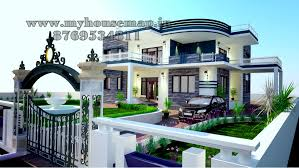 modern elevation bungalow design front elevation design house