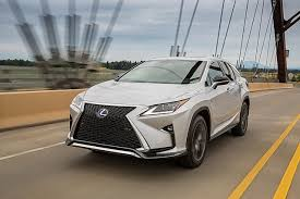 lexus hybrid race car 2016 lexus rx review racy styling and practicality rolled up into