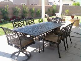 patio 63 11 piece grade a teak dining set oval table outdoor