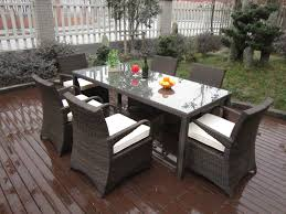 White Resin Wicker Outdoor Patio Furniture Set - how to paint wicker patio furniture sets home design by fuller