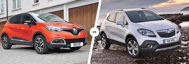 All Renault Models Renault Captur Vs Vauxhall Mokka Suvs Compared Carwow