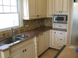 Antiqued Kitchen Cabinets by Make Distressed White Kitchen Cabinets Onixmedia Kitchen Design