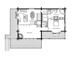 log home floor plan alpine chalet