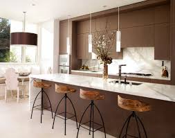 Modern Kitchen Designs With Island by Furniture Awesome Bertch Cabinets With Kitchen Island And Pendant