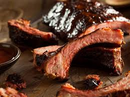 beer u0027n bbq braised country style pork ribs recipe and nutrition