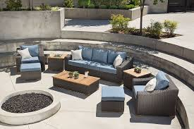 Modern Patio Furniture Clearance by Furniture Outdoor Wicker Patio Furniture Clearance With Brown