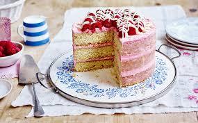white chocolate u0026 raspberry layered cake recipe bake stork