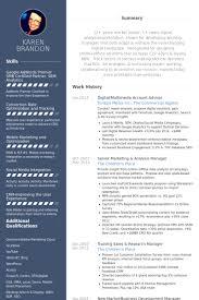 Ecommerce Resume Sample by Senior Brand Manager Resume Samples Visualcv Resume Samples Database