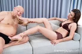 erotic japanese bare foot 