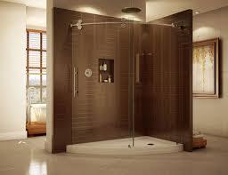 curved u0026 bent glass shower enclosures u2013 cost effective options