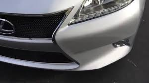 lexus es de toyota how to remove install grille front bumper on a 2013 2014 2015