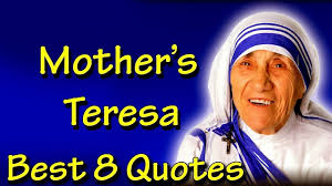 Mother Teresa Quotes On Love by Mother Teresa Inspiring