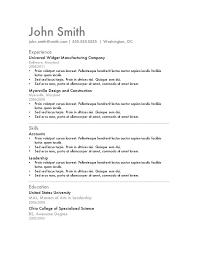 aaaaeroincus gorgeous free resume templates primer with entrancing