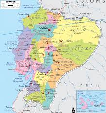 Political Map Of South America Detailed Clear Large Map Of Ecuador Ezilon Maps