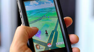 Pokemon Go is displayed on a cell phone in Los Angeles on Friday  July   Mashable