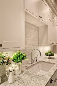 Awesome Kitchen Backsplash Ideas For Your Home - White kitchen backsplash ideas