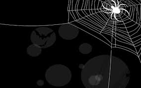 halloween cute background halloween background spider spider web and bats widescreen