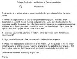 college admission essay example Binuatan College Admission Recommendation Letter Sample