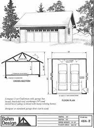 Garage Depth Garage Plans With Loft 1224 2 34 U0027 X 24 U0027 Garage Pinterest