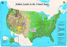 Big Map Of The United States by Map Of Indian Lands In Us U2022 Mapsof Net