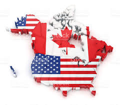 United States And Canada Map by Canada Map Pictures Images And Stock Photos Istock